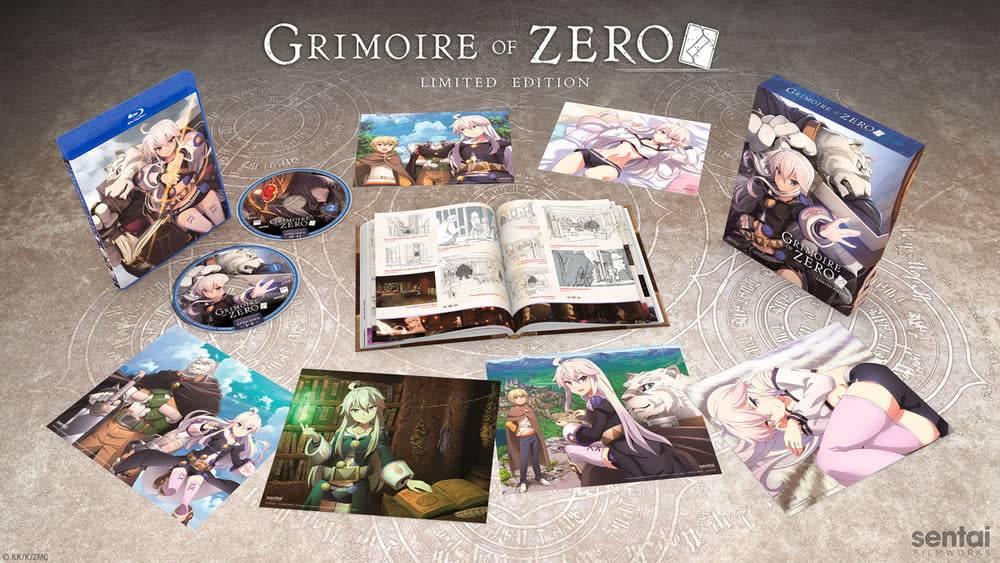 Sentai Filmworks Grimoire of Zero Premium Edition