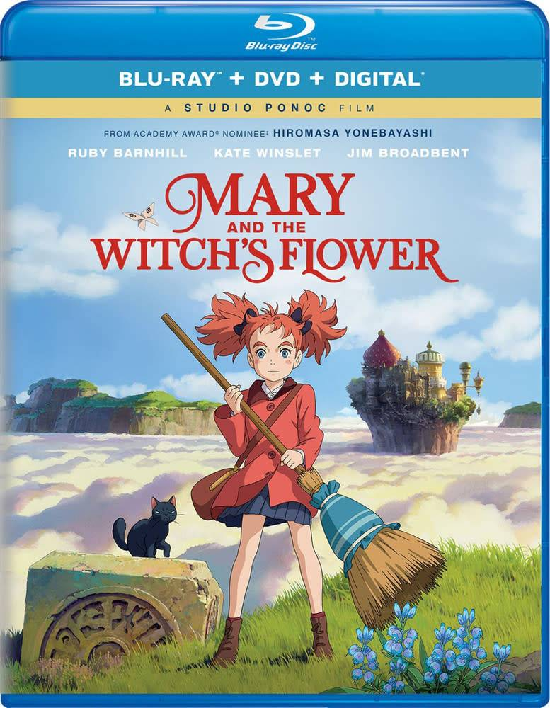 GKids/New Video Group/Eleven Arts Mary and the Witch's Flower Blu-Ray/DVD + Digital