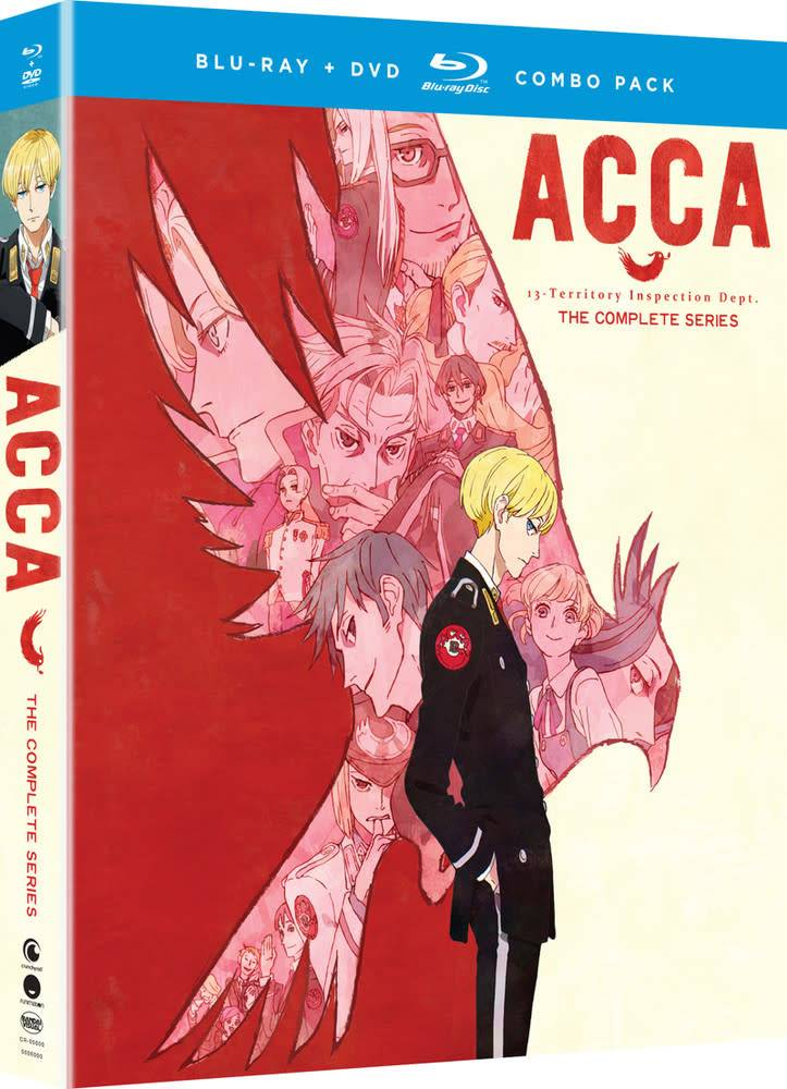 Funimation Entertainment ACCA 13 Territory Inspection Blu-Ray/DVD*
