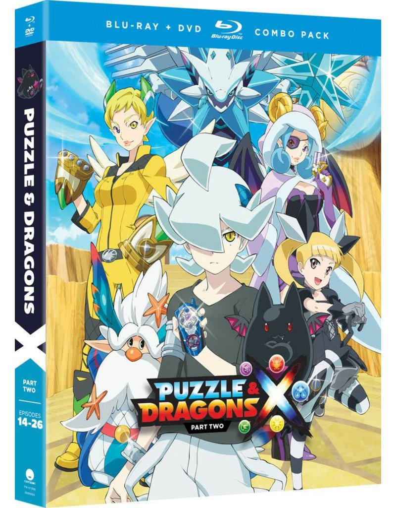 Funimation Entertainment Puzzle & Dragons Part 2 Blu-Ray/DVD