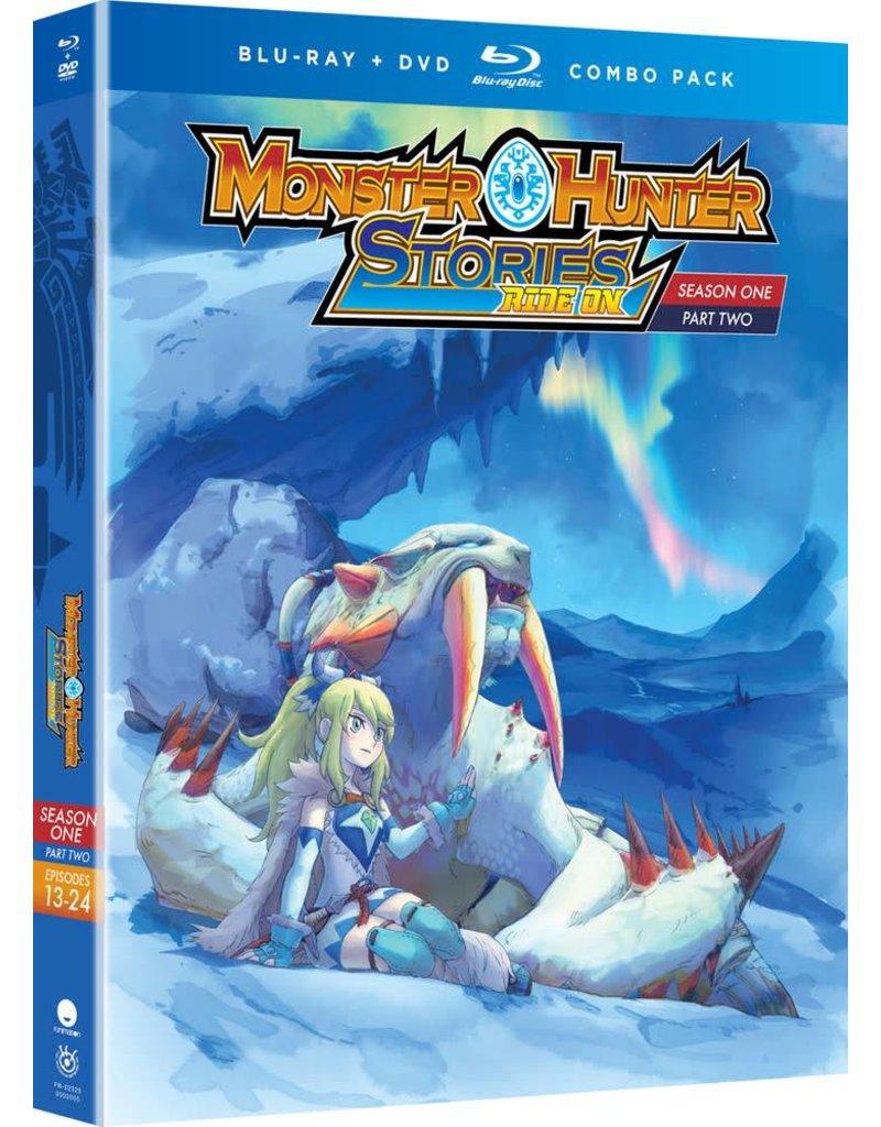 Funimation Entertainment Monster Hunter Stories Ride On Season 1 Part 2 Blu-Ray/DVD