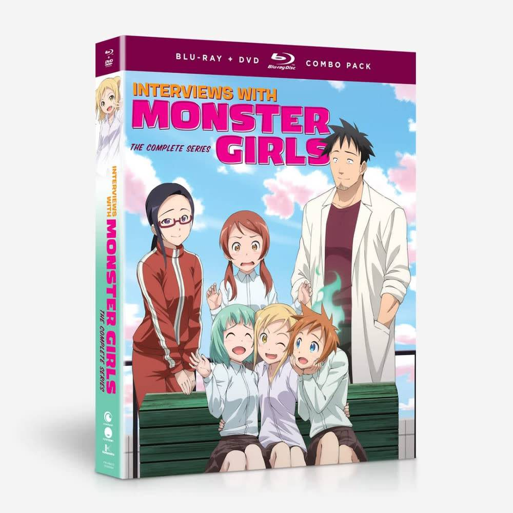 Funimation Entertainment Interviews with Monster Girls Blu-Ray/DVD
