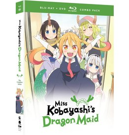 Funimation Entertainment Miss Kobayashi's Dragon Maid Blu-Ray/DVD