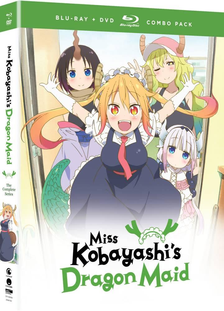 Funimation Entertainment Miss Kobayashi's Dragon Maid Blu-Ray/DVD