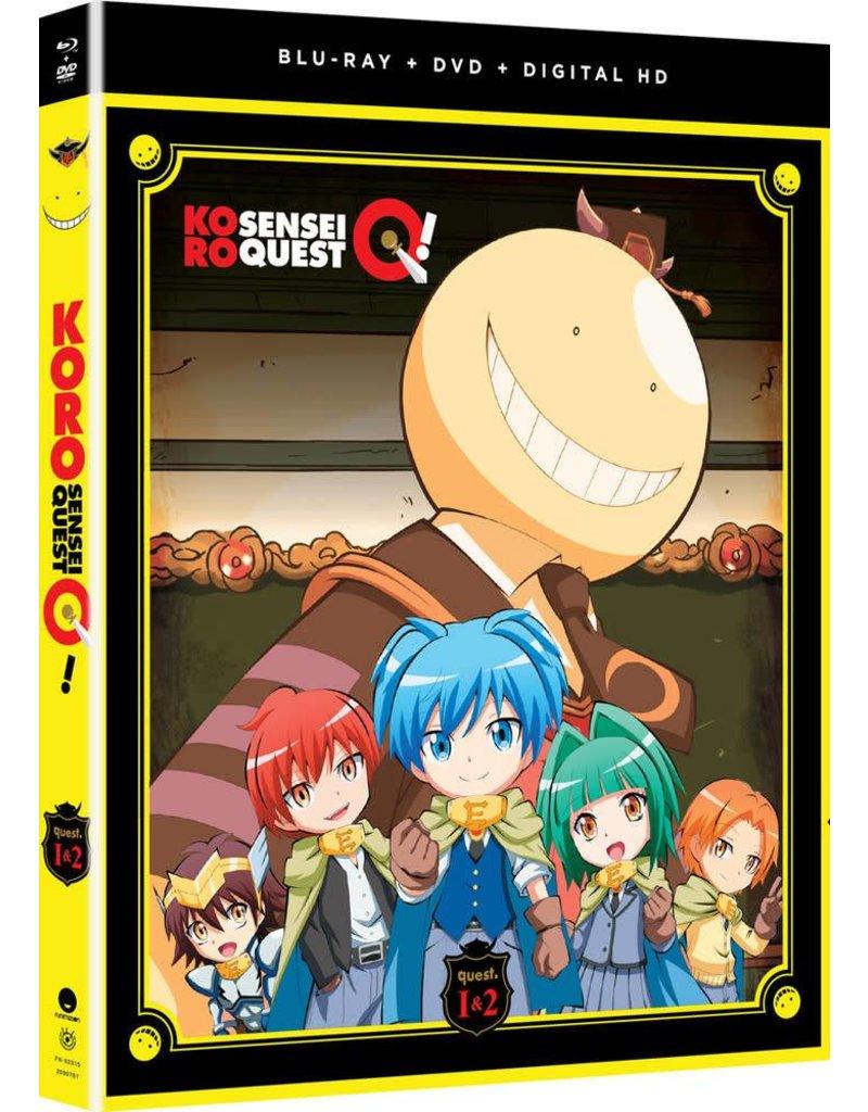 Funimation Entertainment Koro Sensei Quest! Blu-Ray/DVD*