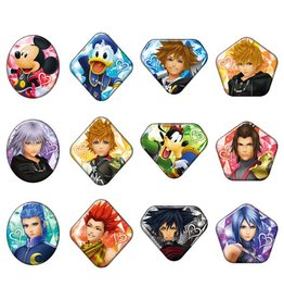 Ensky Kingdom Hearts Jemcut Can Badge
