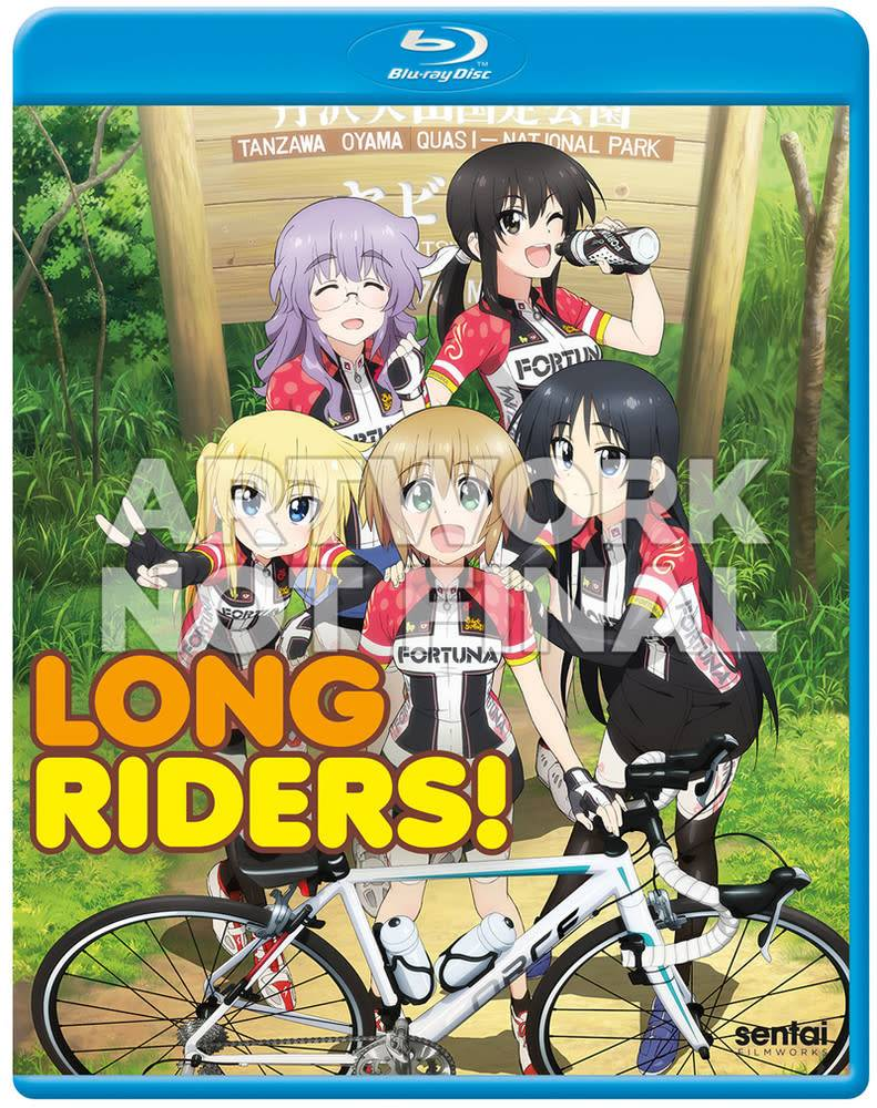 Sentai Filmworks Long Riders Blu-Ray