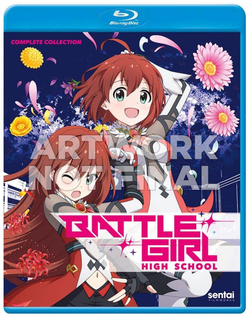 Sentai Filmworks Battle Girl High School Blu-Ray