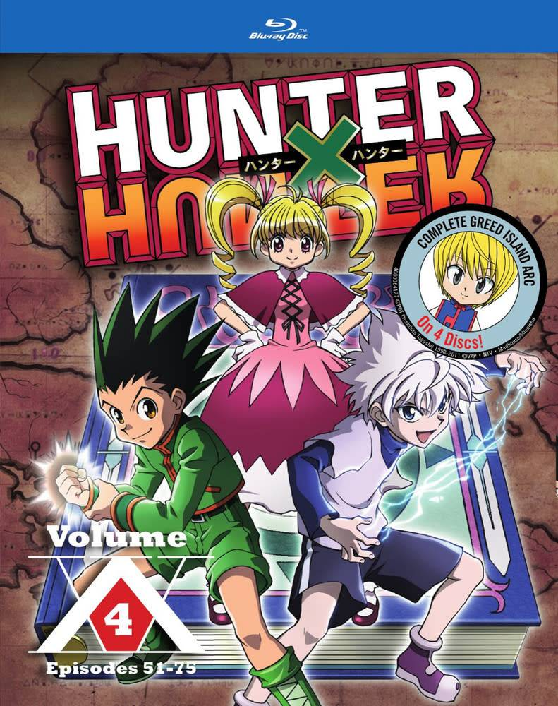 Viz Media Hunter x Hunter Vol. 4 Blu-Ray