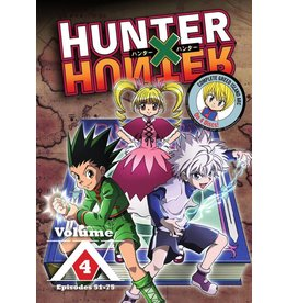 Viz Media Hunter x Hunter Vol. 4 DVD