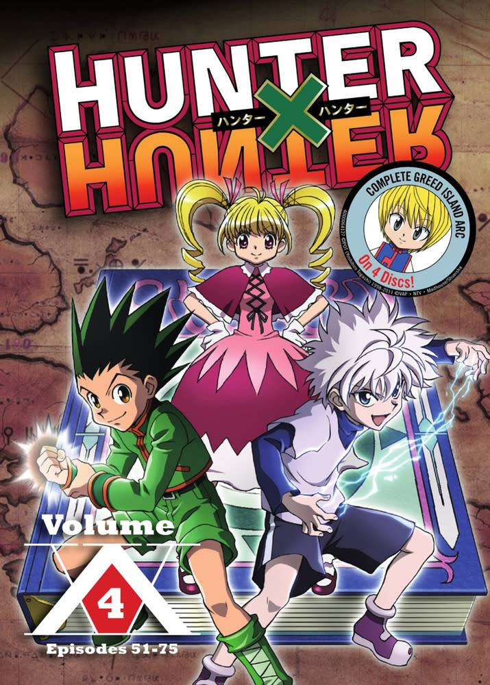 Hunter x Hunter Vol. 4 DVD - Collectors Anime LLC
