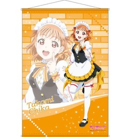 Love Live! Sunshine!! Maid Outfit B2 Wallscroll