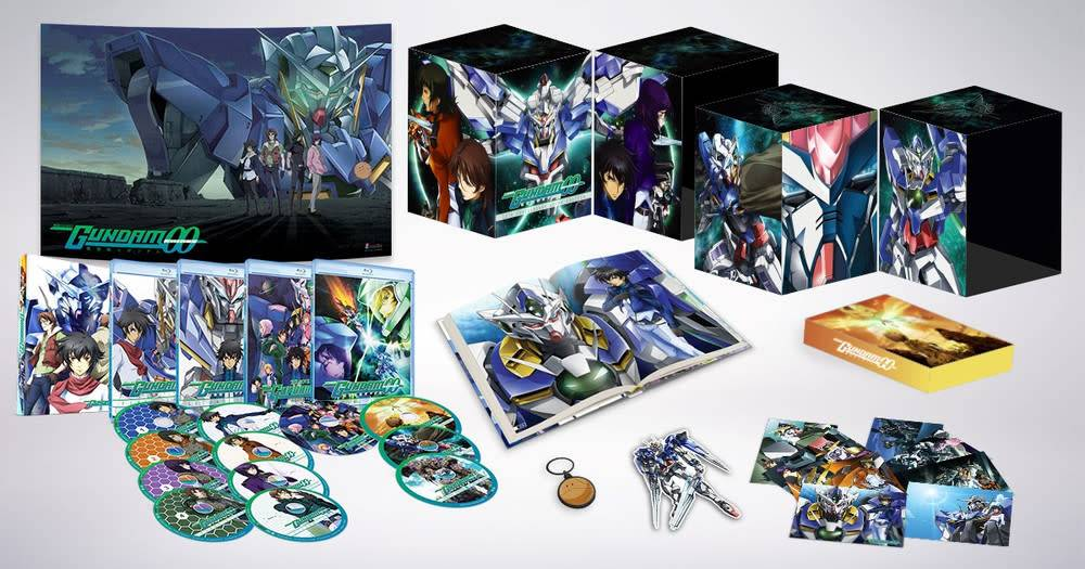 Gundam 00 Collectors Ultra Edition Blu-Ray Set
