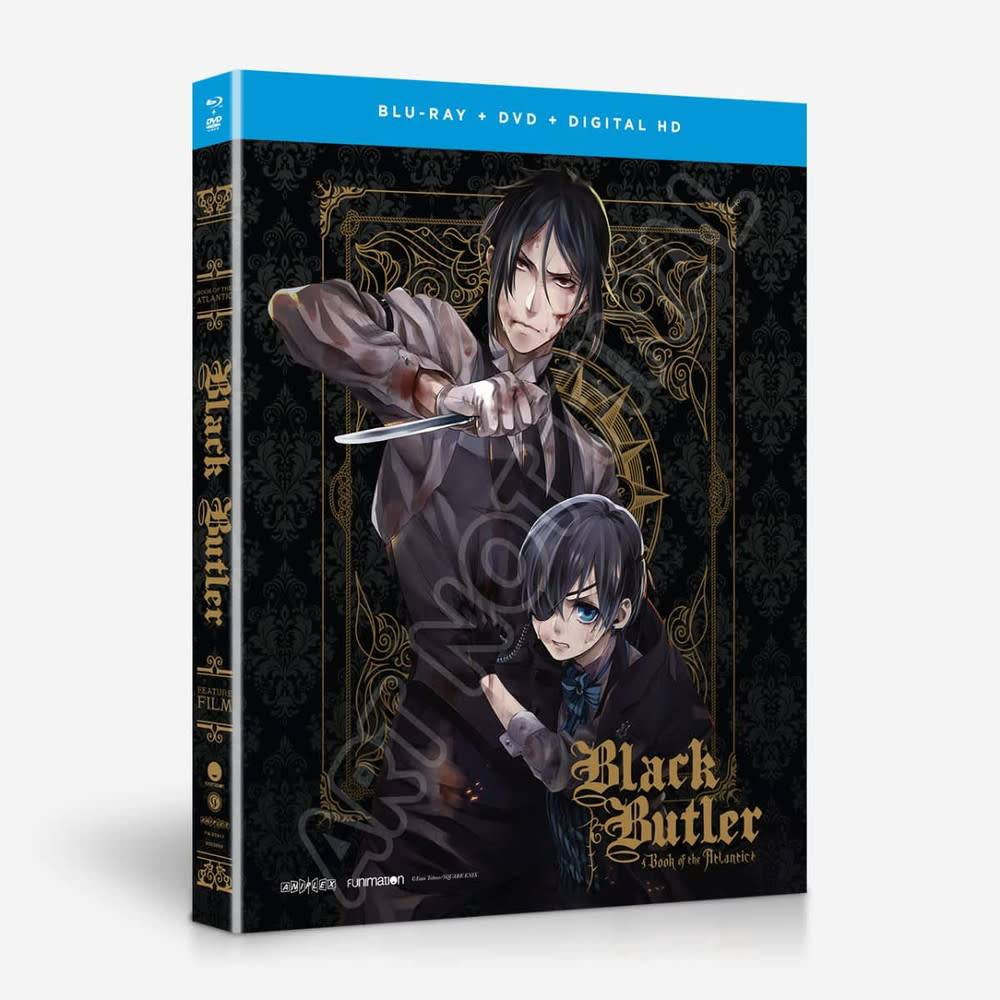 Funimation Entertainment Black Butler Book Of The Atlantic Movie Blu-Ray/DVD