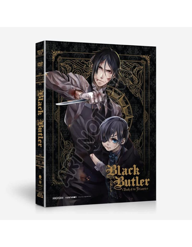 Funimation Entertainment Black Butler Book Of The Atlantic Movie DVD