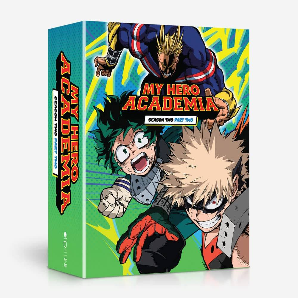 Funimation Entertainment My Hero Academia Season 2 Part 2 Blu-Ray/DVD LE