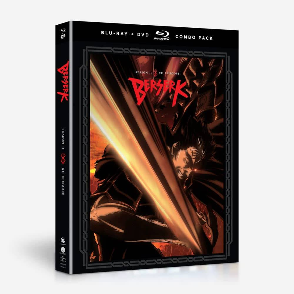 Funimation Entertainment Berserk (2016) Season 2 Blu-Ray/DVD*