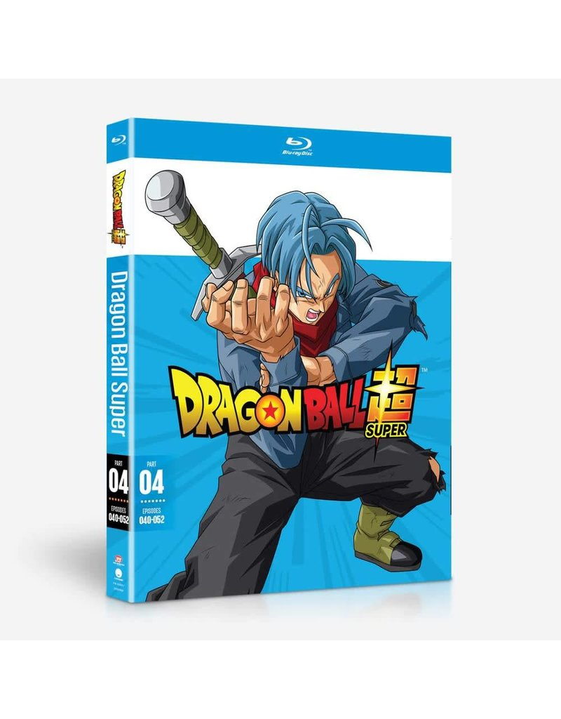 Funimation Entertainment Dragon Ball Super Part 4 Blu-Ray