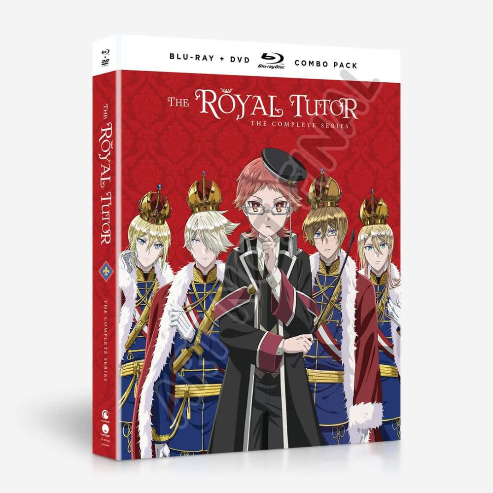 Funimation Entertainment Royal Tutor, The Blu-Ray/DVD