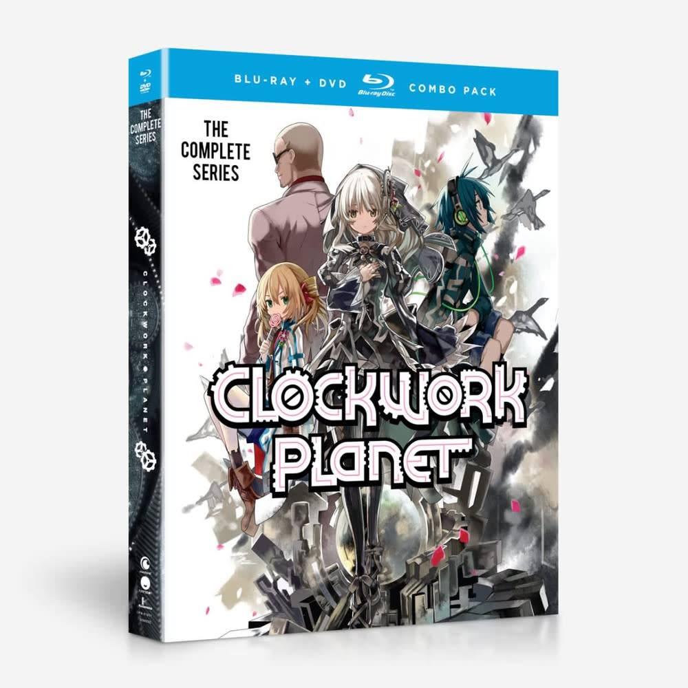 Funimation Entertainment Clockwork Planet Blu-Ray/DVD