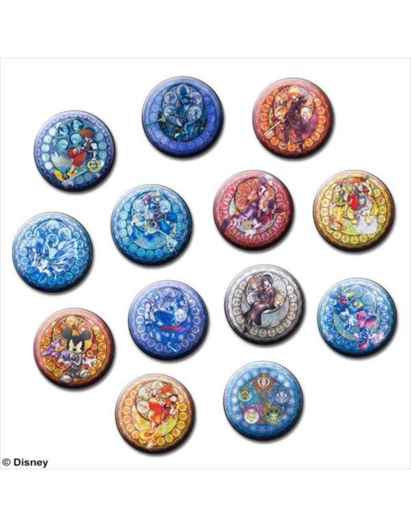 Square Enix Kingdom Hearts Can Badge