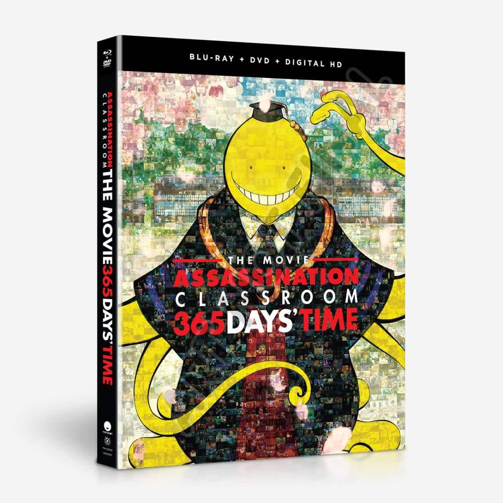 Funimation Entertainment Assassination Classroom The Movie 365 Days' Time Blu-Ray/DVD