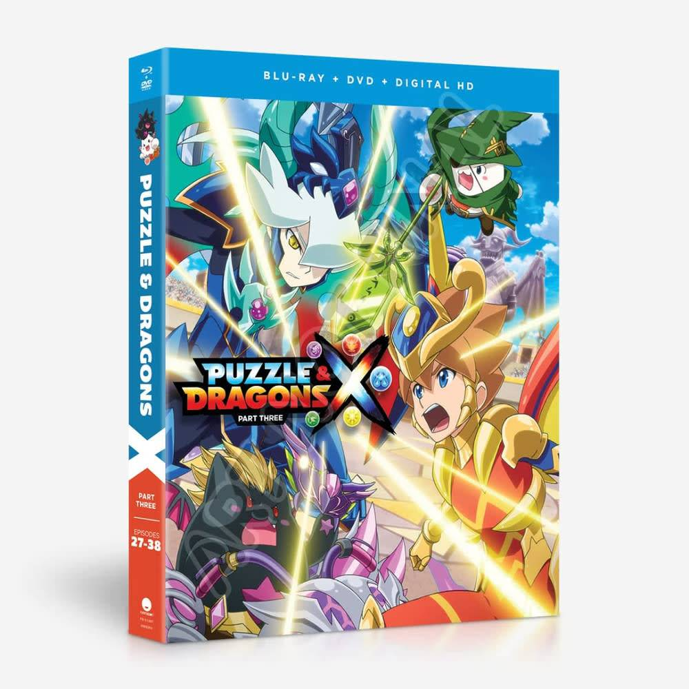 Funimation Entertainment Puzzle & Dragons Part 3 Blu-Ray/DVD