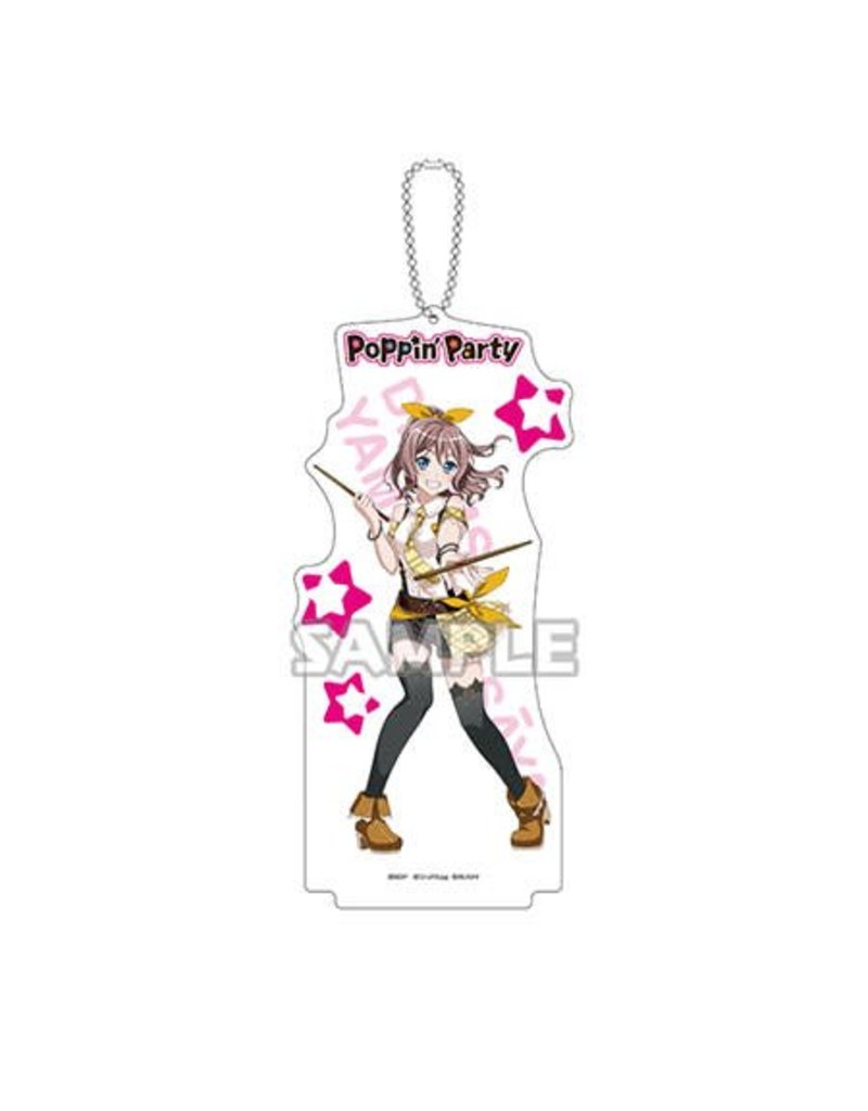 Bushiroad BanG Dream Acrylic Stand Keychain (Poppin' Party)