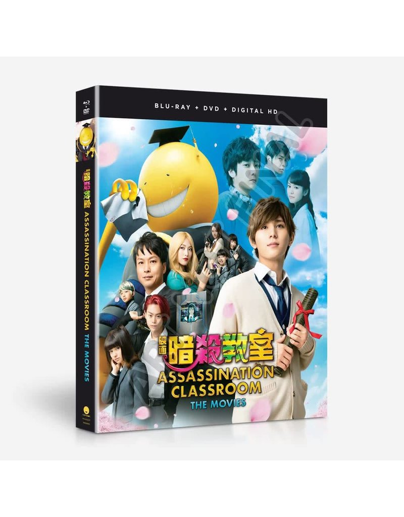 Funimation Entertainment Assassination Classroom The Movies Blu-Ray/DVD