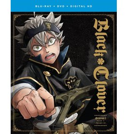 Funimation Entertainment Black Clover Season 1 Part 1 Blu-Ray/DVD*