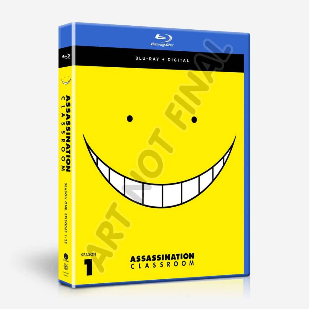 Funimation Entertainment Assassination Classroom Season 1 Classics Blu-Ray