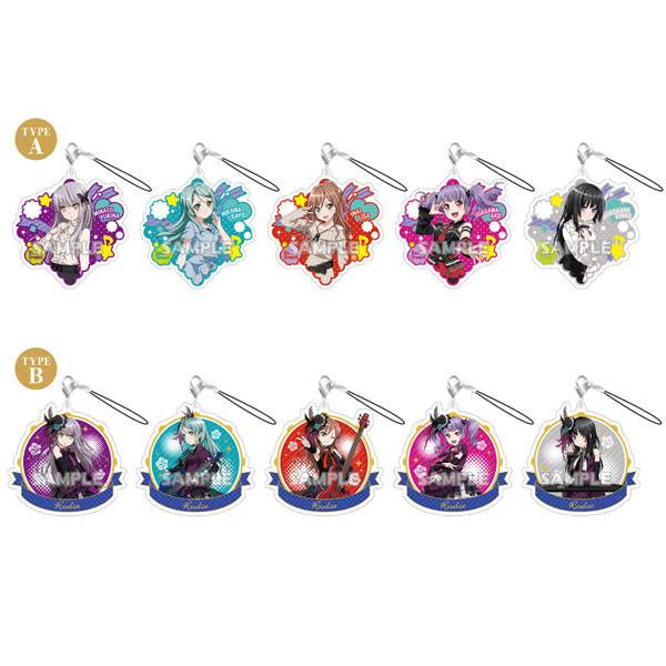 Bushiroad BanG Dream! Chararium Acrylic Strap Roselia Full Box