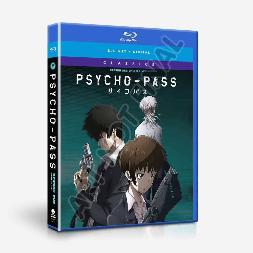 Funimation Entertainment Psycho Pass Season 1 Classics Blu-Ray