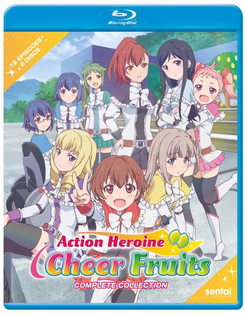 Sentai Filmworks Action Heroine Cheer Fruits Blu-Ray