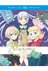 Funimation Entertainment New Game!! Season 2 Blu-Ray/DVD*