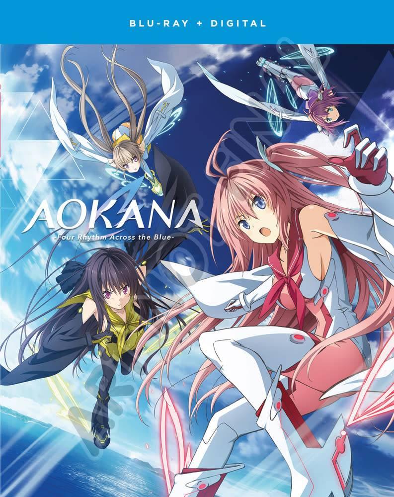 Funimation Entertainment AOKANA Four Rhythm Across The Blue Blu-Ray