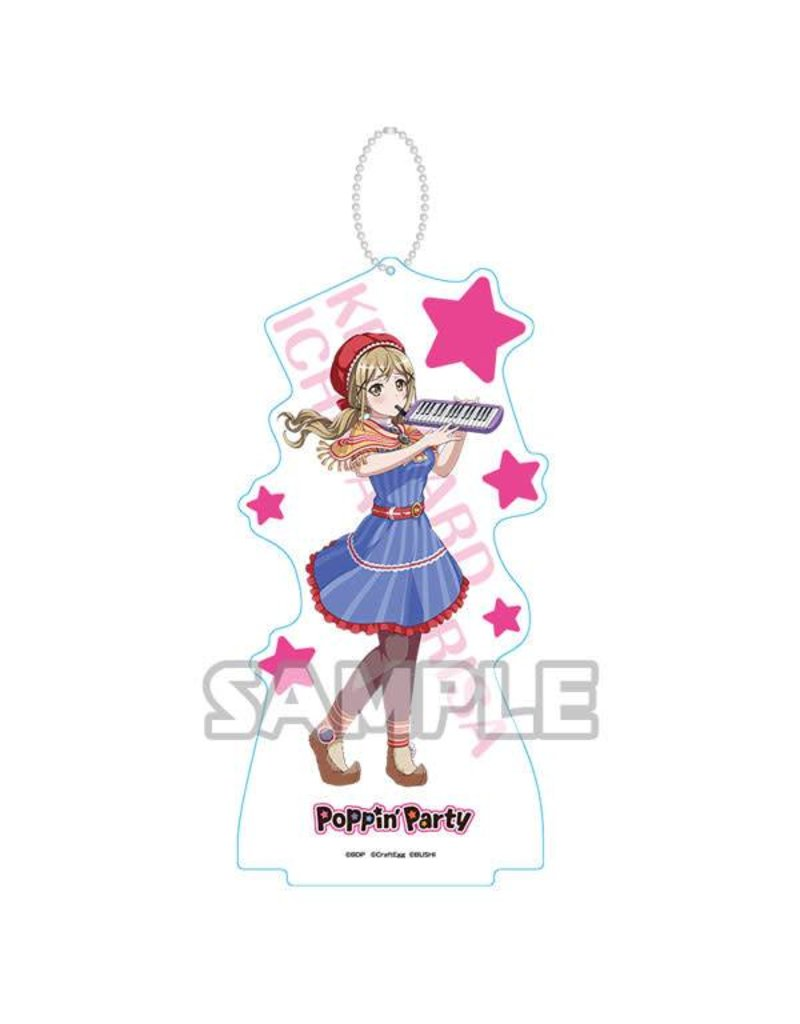 Bushiroad BanG Dream Acrylic Stand Keychain (Poppin' Party) Vol. 2