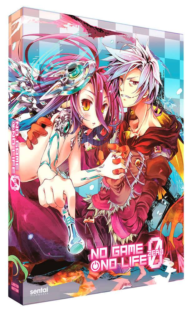 Sentai Filmworks No Game No Life Zero Blu-Ray/DVD Premium Edition