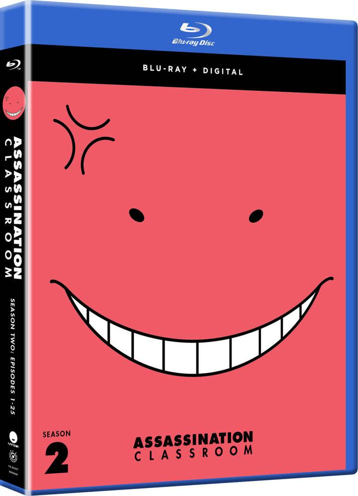 Funimation Entertainment Assassination Classroom Season 2 Blu-Ray*