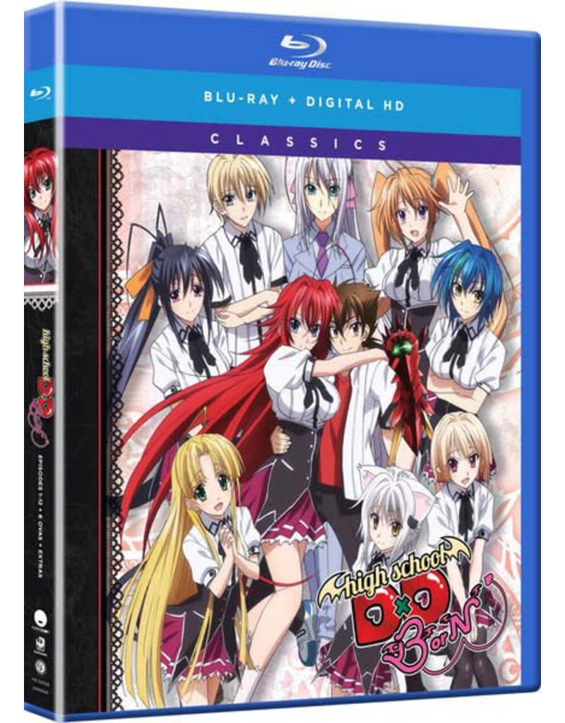 Funimation Entertainment High School DxD BorN Season 3 Classics Blu-Ray