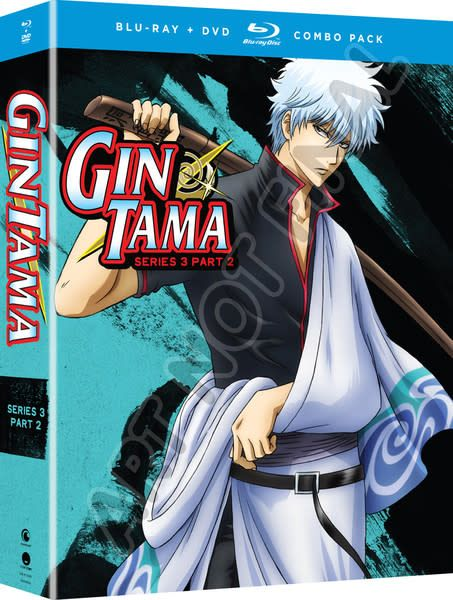 Funimation Entertainment Gintama Series 3 Part 2 Blu-Ray/DVD