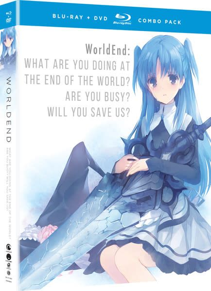 Funimation Entertainment WorldEnd What Do You Do At The End Of The World? Are You Busy? Will You Save Us? Blu-Ray/DVD
