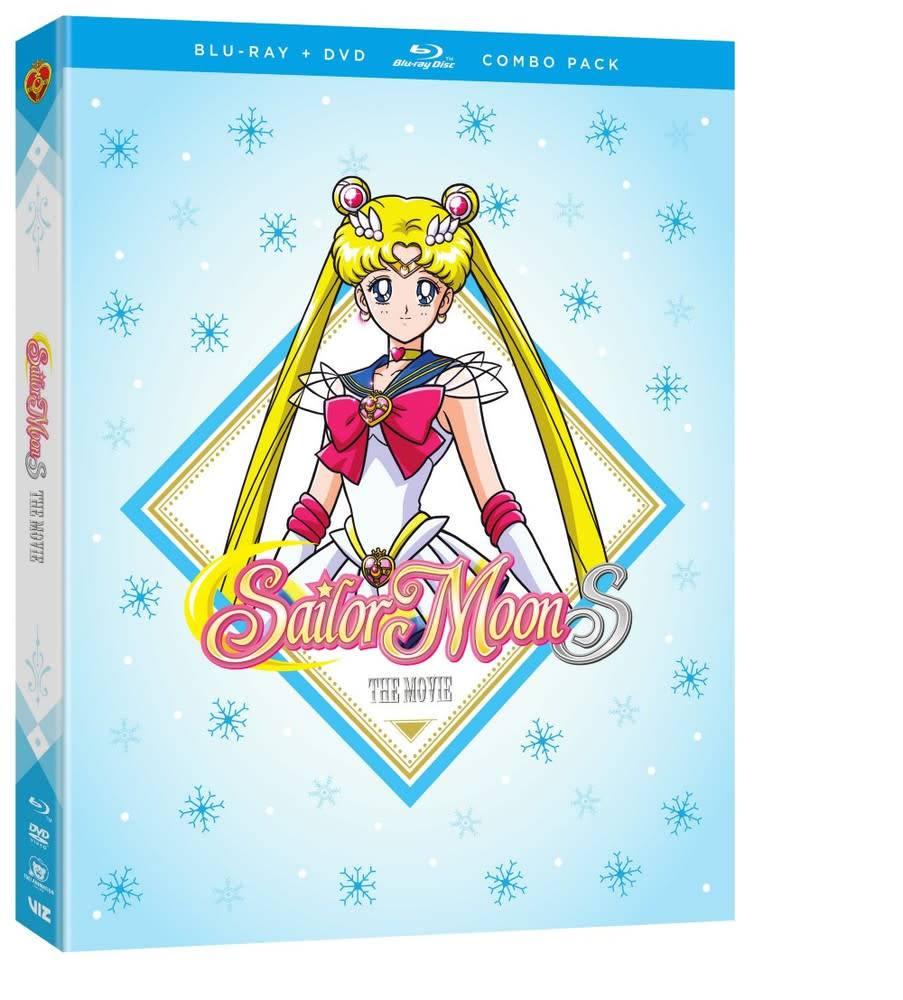 Viz Media Sailor Moon S The Movie Blu-Ray/DVD