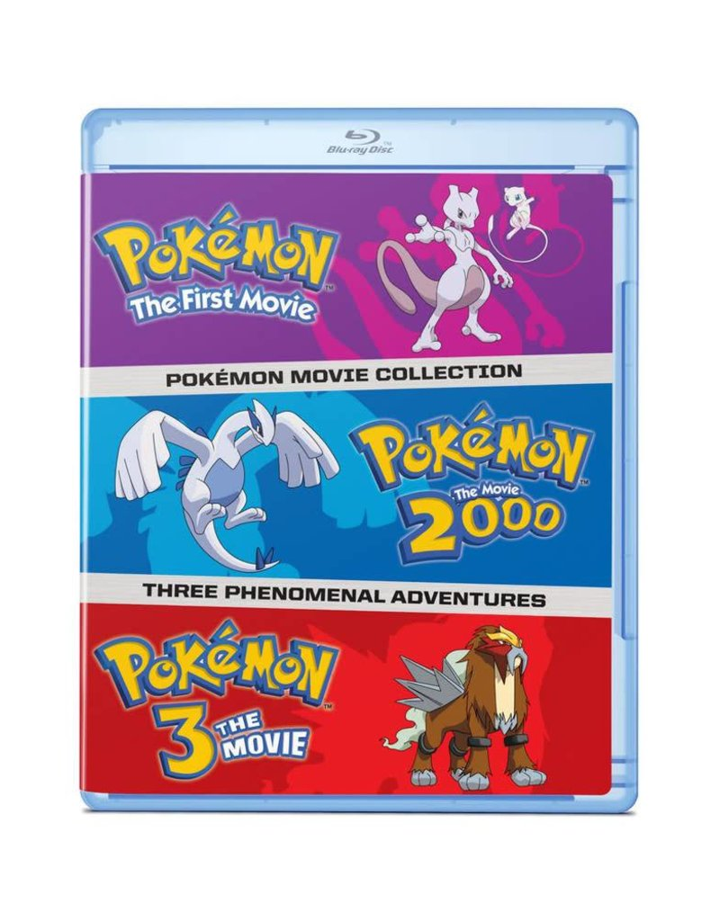 Viz Media Pokemon Movies 1-3 Blu-Ray