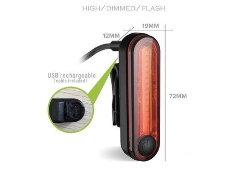 BC Rear Light USB Rechargeable
