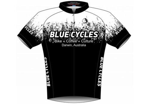 Blue Cycles Galaxy Splash Aero Jersey