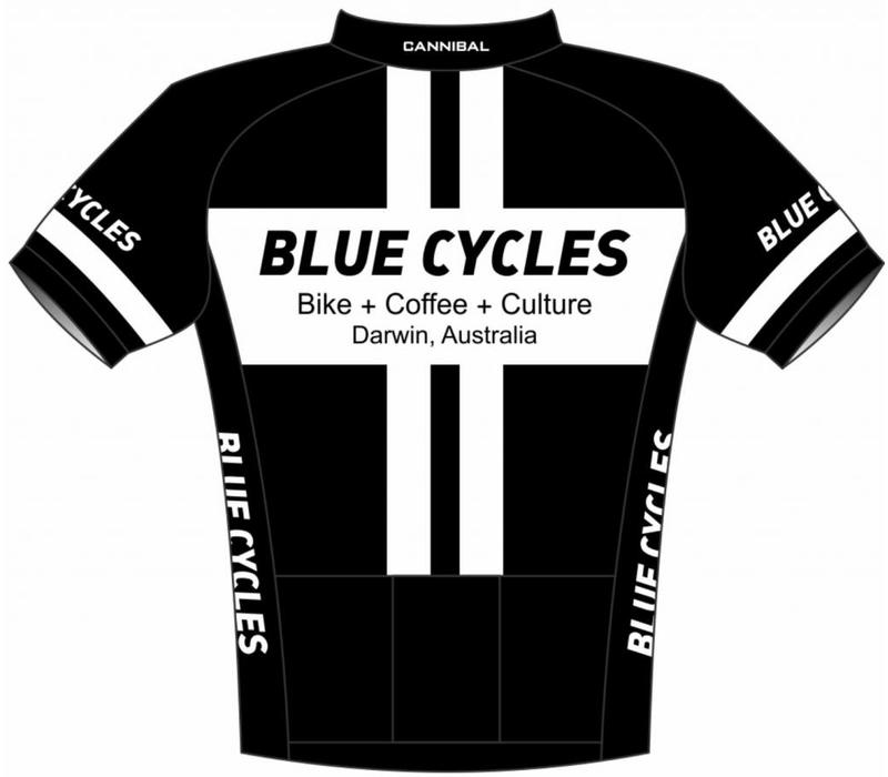 Blue Cycles Mustang Sally Aero Jersey