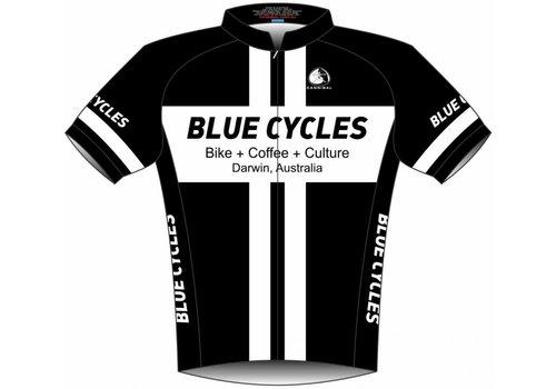 Blue Cycles Mustang Sally Aero Jersey