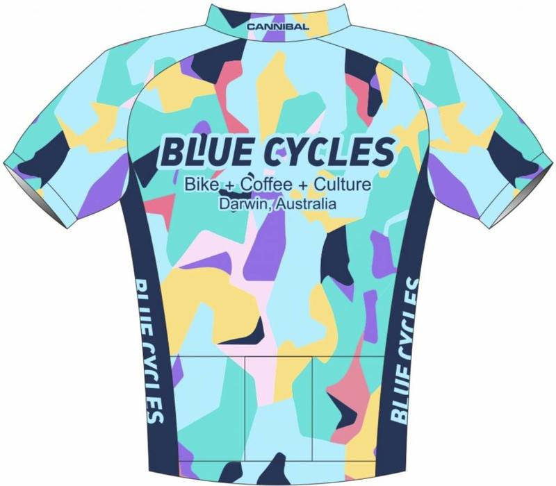 Blue Cycles Club 33 Aero Jersey