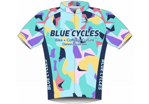 Blue Cycles Club 33 Aero Jersey